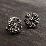 original_sterling-silver-marcasite-flower-studs