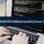 How to Fix Error code [pii email 4c910535350b5a41ee81]
